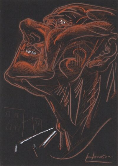 Peter Howson, 'Face of Britain study IV', 1991