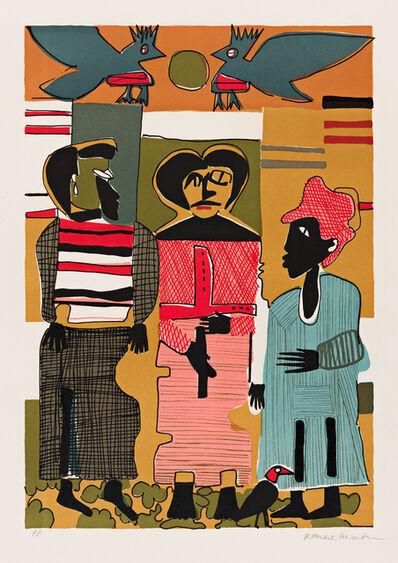 Romare Bearden, 'Firebirds', 1980