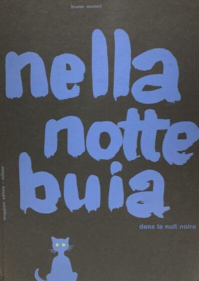 Bruno Munari, 'Nella Notte Buia / dans la nuit noire', 1956