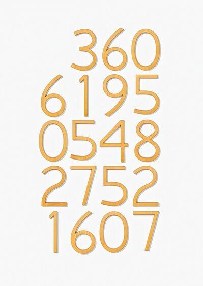 Jonathan Borofsky, 'Piece of Infinity (C)', 1991