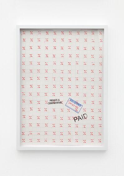 Amalia Pica, 'Joy in Paperwork #4', 2015