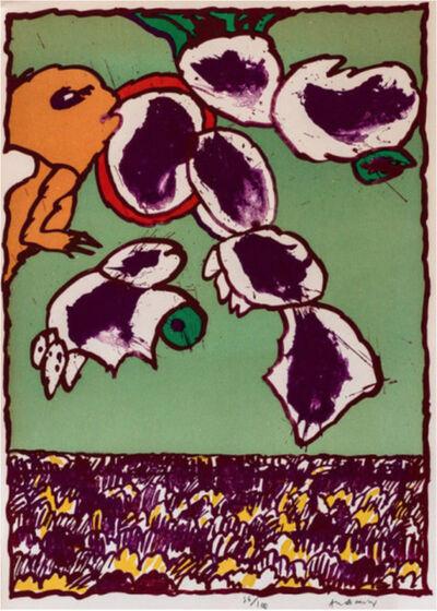 Pierre Alechinsky, 'Galactic Flying Objects', 1978