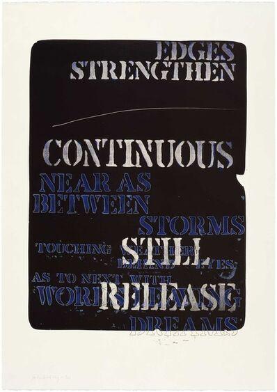 Edwin Schlossberg, 'Edges Strengthen', 1981
