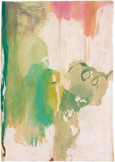 Helen Frankenthaler, 'Snow Pines', 2004