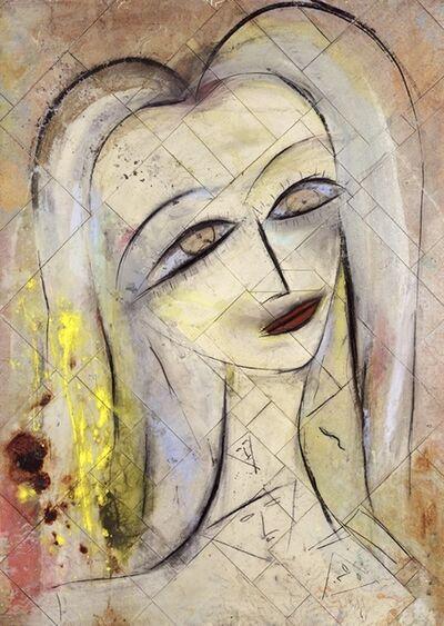 Jamali, 'Untitled - Soft portrait with yellow ', 2013