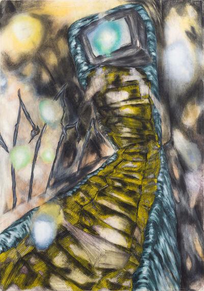 Magdalena West, 'Die hintergegangene Treppe', 2014