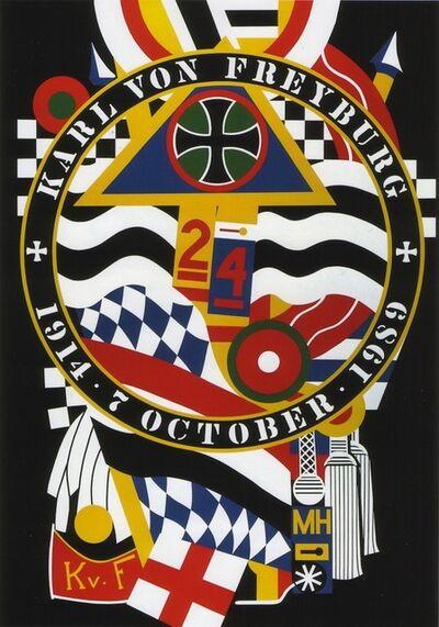 Robert Indiana, 'The Hartley Elegies KvF I', 1990