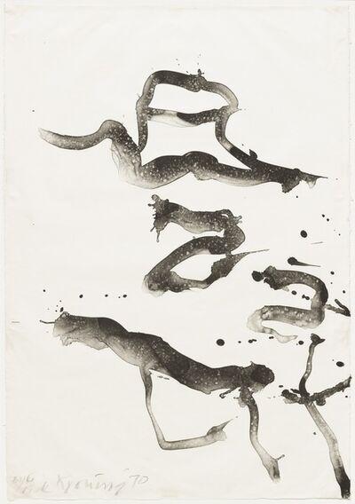 Willem de Kooning, 'Weekend at Mr. and Mrs. Krisher ', 1970-71