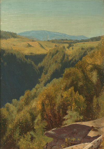 Jervis McEntee, 'Summer Hills, Hunter Mountain', 1867
