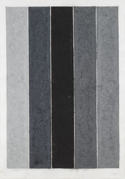 Ellsworth Kelly, 'Colored Paper Image IX (Four Grays and Black)', 1976