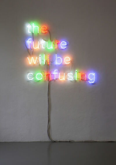 Tim Etchells, 'Will Be', 2010
