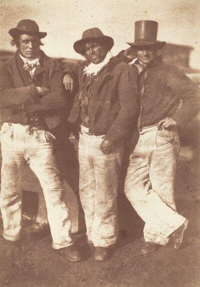 Hill & Adamson, 'Alexander Rutherford, William Ramsay and John Linton', 1843-1847