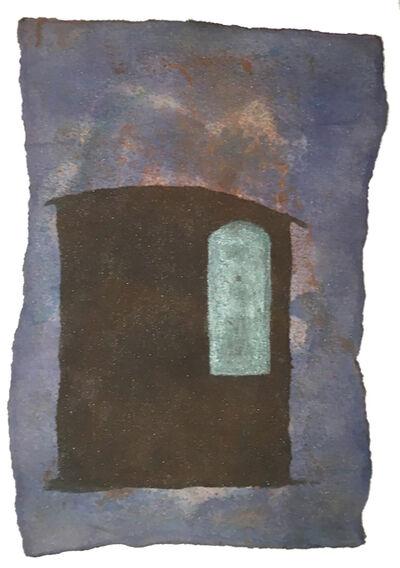 Daria Sandburg, 'Night Box Coda (turquoise window)', 2020