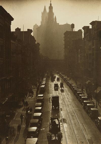 Consuelo Kanaga, 'Downtown, New York', 1924