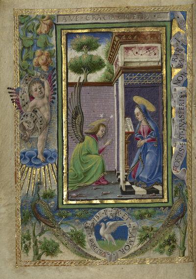 Taddeo Crivelli, 'The Annunciation', 1469