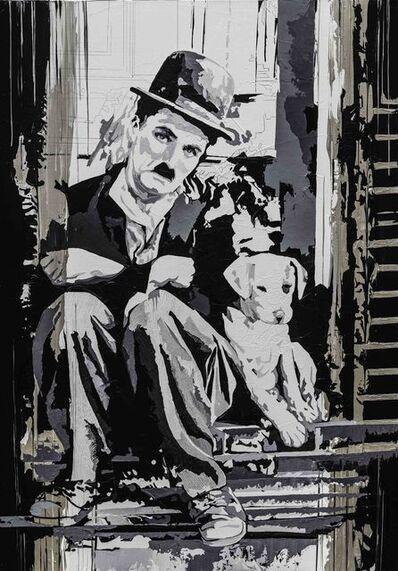Valérie Durand, 'Charlie Chaplin Chien', ca. 2017