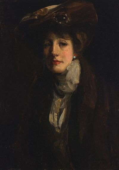 Sir John Lavery, 'Portrait of the Artist's Wife'