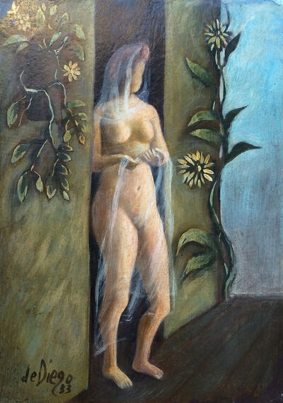 Julio De Diego, 'Girl in Doorway', 1933