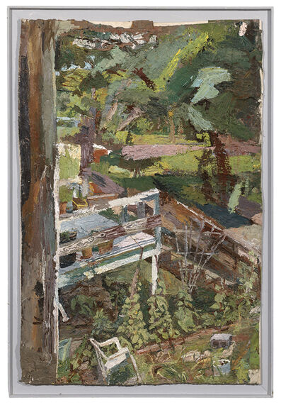 Stanley Lewis, 'View from Barn Window'
