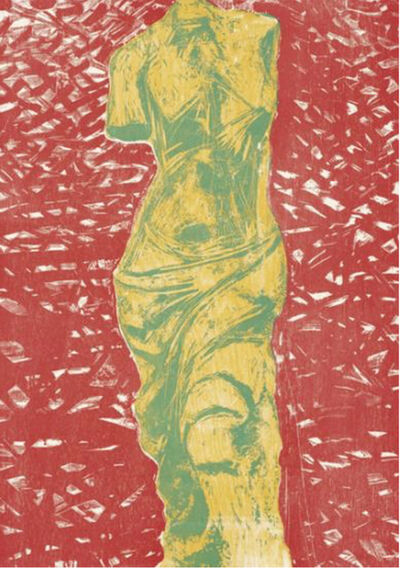 Jim Dine, 'Nine Views of Winter: #9', 1985