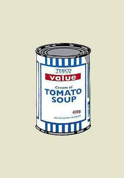 Banksy, 'Soup Can (Unsigned)', 2004
