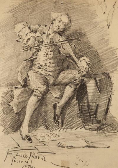 Francis Luis Mora, 'Untitled (Violinist)', 1874-1940