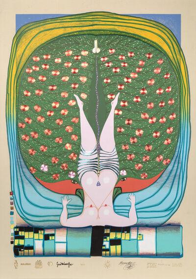 Friedensreich Hundertwasser, 'Homage to Schroeder-Sonnenstern', 1972