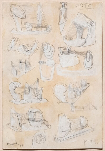 Henry Moore, 'Ideas for Stringed Figures', 1938