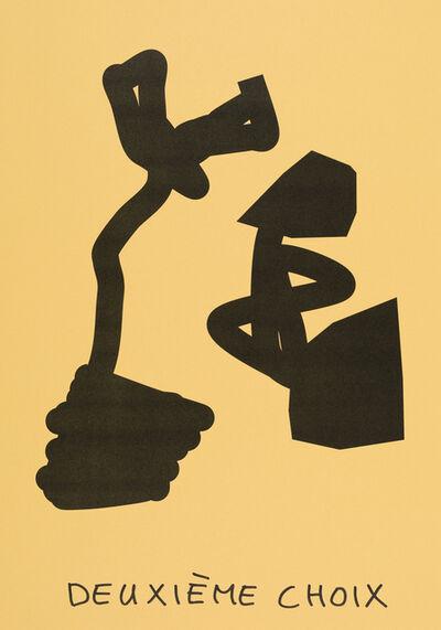Claude Closky, 'Deuxième choix (jaune bouton d'or) (c)', 2020