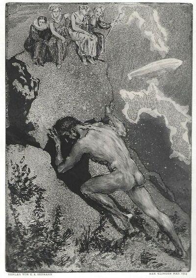 Max Klinger, 'Sisyphus / Die Fakultäten', 1914