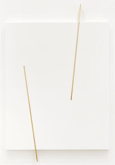 """Valdirlei Dias Nunes, 'Sem título (Relevo """"G"""")', 2013"""