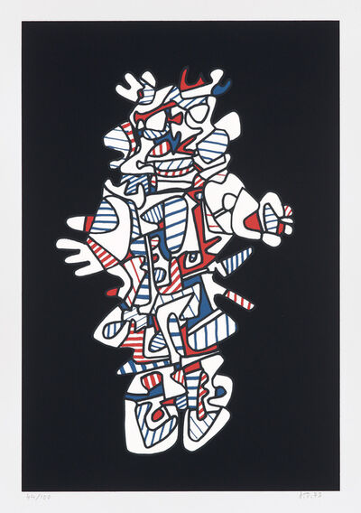 Jean Dubuffet, 'Epiphanor, from Présences Fugace (Fleeting Presences)', 1973