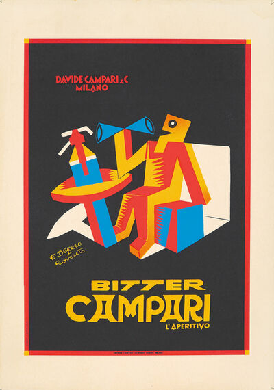 Fortunato Depero, 'Bitter Campari', ca. 1932