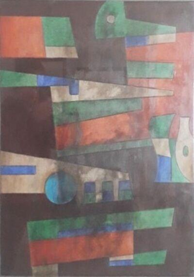 Carlos Merida, 'El bosque encantado', 1976