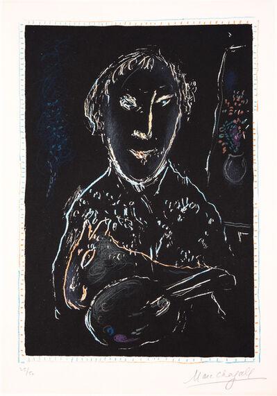 Marc Chagall, 'Autoportrait', 1973