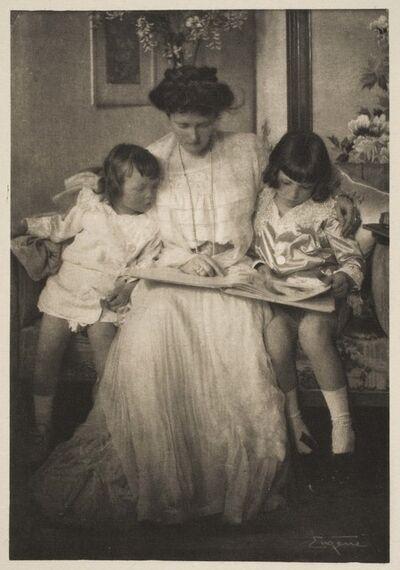"""Frank Eugene, 'Princess Rupprecht and her Children, published in """"Camera Work"""" (April 1910)', published 1910"""