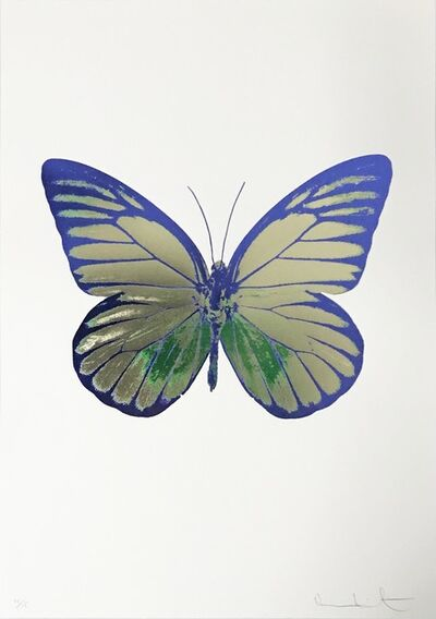 Damien Hirst, 'The Souls I, Coolgold-Emeraldgreen-Westminsterblue', 2010