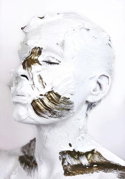 Sophie Derrick, 'Negate & Gild - White + Bronze #5', 2019