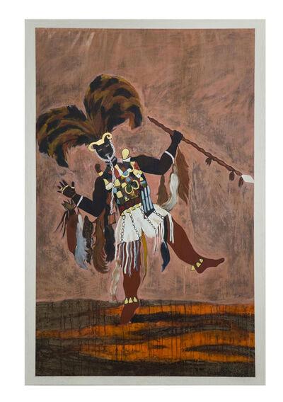 Godfried Donkor, 'Ashanti War Captain II', 2017