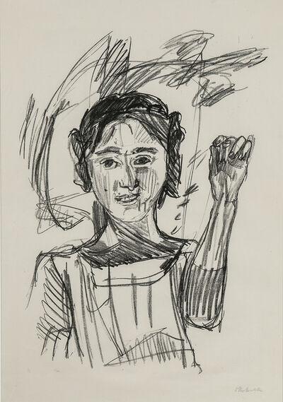 Oskar Kokoschka, 'Die Griechin', 1921