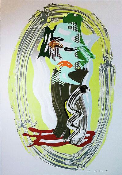 Roy Lichtenstein, 'Green Face', 1989