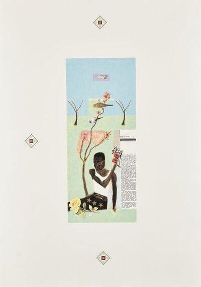 Craigie Aitchison, 'Africa', 1996