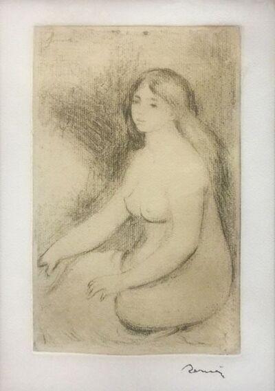 Pierre-Auguste Renoir, 'BAIGNEUSE ASSISE', 1919