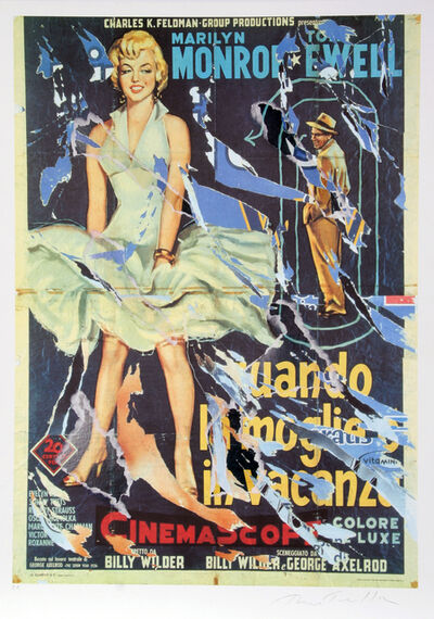 Mimmo Rotella, 'Seven Year Itch #1', 2004