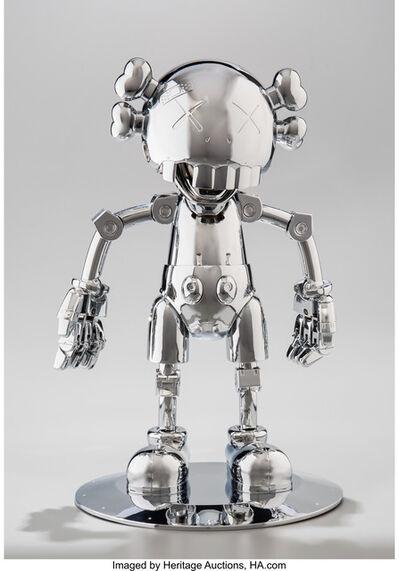 KAWS, 'No Future Companion (Silver Chrome)', 2008