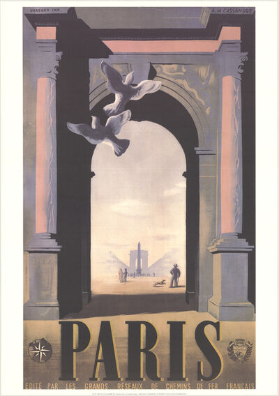 A.M. Cassandre, 'Paris', 1998