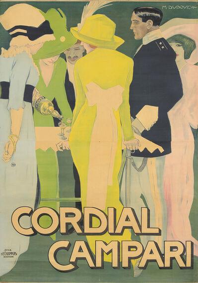 Marcello Dudovich, 'Cordial Campari.', 1914