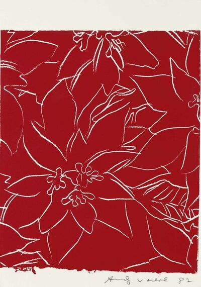 Andy Warhol, 'Poinsettias', 1983