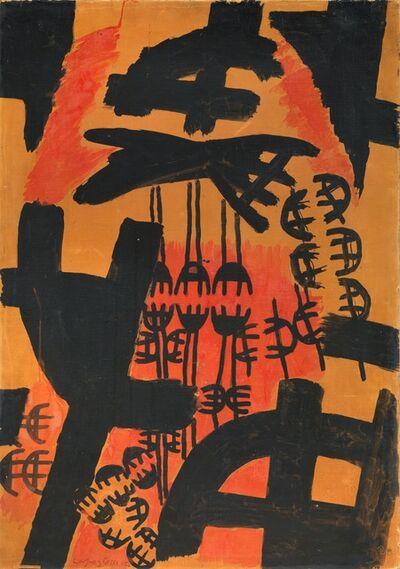Giuseppe Capogrossi, 'Superficie 120', 1954