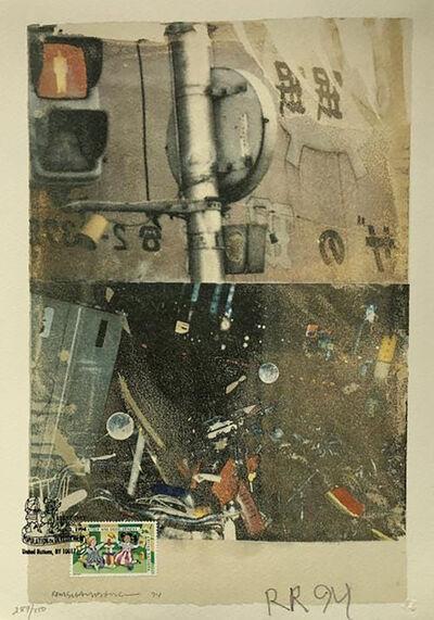 Robert Rauschenberg, 'Bulkhead', 1994